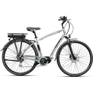 28 Zoll Elektro Herren Fahrrad Montana... grau, 49cm