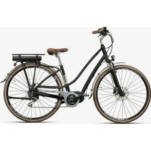 28 Zoll Elektro Damen Fahrrad Montana... schwarz, 48cm