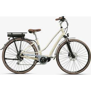 28 Zoll Elektro Damen Fahrrad Montana E-Lunapiena... creme, 48 cm