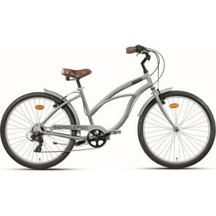 26 Zoll Damen Beach Cruiser Montana Wave 7... grau
