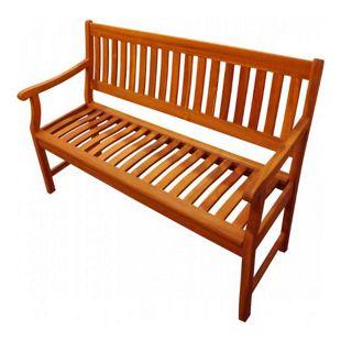 SAM® Gartenbank Akazie 117 cm 2-Sitzer Holzbank NEW DELHI