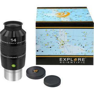 """EXPLORE SCIENTIFIC 100° Ar Okular 14mm (2"""")"""