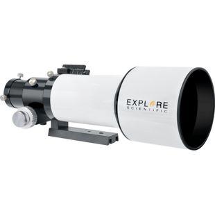"""EXPLORE SCIENTIFIC ED APO 80mm f/6 FCD-1 Alu 2"""" R&P Fokussierer"""