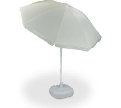 relaxdays 2 tlg. Sonnenschirm Set Sonnenschirmständer Schirmständer Sonnenschirm 180 cm