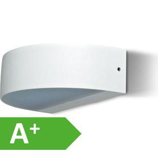 LED UpDown Wandleuchte Uldis weiß IP54 2x4,5 W 3000K 10660