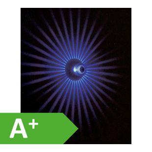 Effektleuchte, Wandlampe 3W Power LED SunLed blue 10114