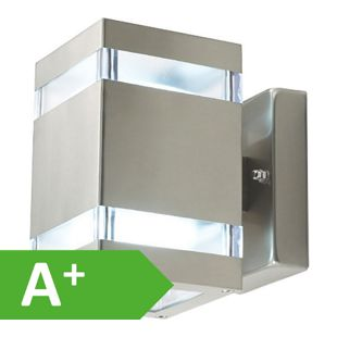 Wandleuchte Amaru 4, 2flg, eckig, LED, IP44, 10142