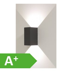 Wandleuchte, Effektleuchte, Beam 5, 2x3 W LED, Abstrahlwinkel 0 - 90 Grad, dunkelgrau