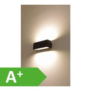 LED UpDown Wandleuchte Kajus L dunkelgrau, IP54, 2x6 W, 3000K 10604