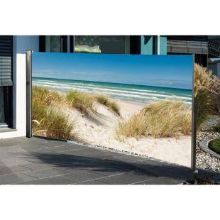 HTI-Living Seitenmarkise mit Fotodruck Ostsee