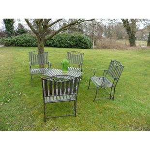 HTI-Living Gartentischgruppe 5-tlg. Cornwall