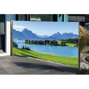 HTI-Living Seitenmarkise mit Fotodruck Berge