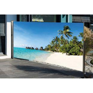 HTI-Living Seitenmarkise mit Fotodruck Südsee