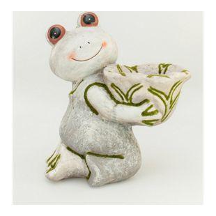 HTI-Line Blumentopf Frosch