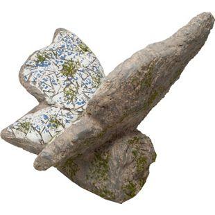 HTI-Line Gartendeko Mosaik Schmetterling