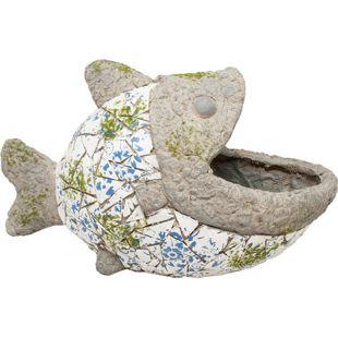 HTI-Line Pflanzgefäß Mosaik Fisch