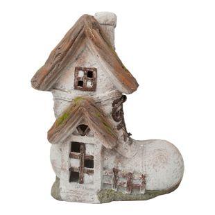 HTI-Line Gartendeko Fairytale Stiefelhaus