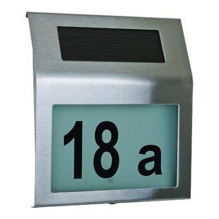 HTI-Living Solar-Hausnummer
