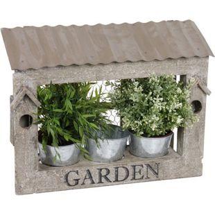HTI-Living Blumenkasten Holz Garden