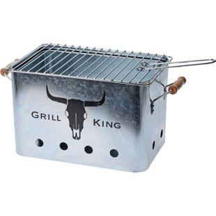 HTI-Living Holzkohlegrill Grill King