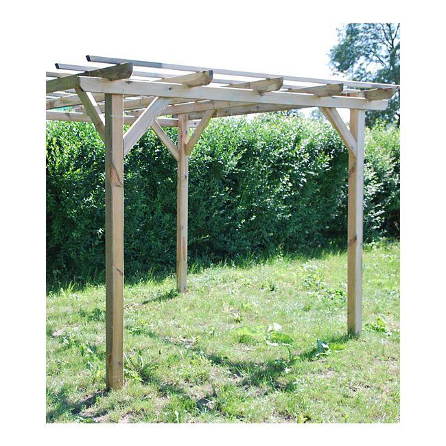 jclass Pergola Henley - Gartenpavillon aus Holz online kaufen ...