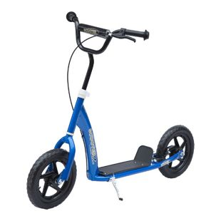 HOMCOM Kinder Cityroller 120 x 52 x (75-86) cm (LxBxH)   Tretroller Kinder Scooter Kinder Roller Bike