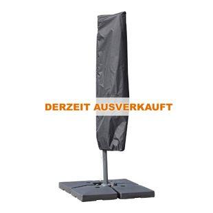 Outsunny Schutzhülle für Sonnenschirme schwarz 200 x 50/80 cm (HxB) | Schirmschutzhaube Überzieher Hüllenschutz Abdeckung