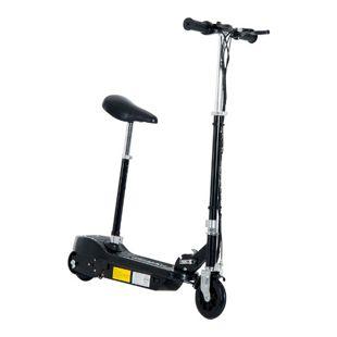HOMCOM Kinder Elektroroller mit Sitz 78 x 40 x 80-96 cm (LxBxH) | Kickscooter Kinderroller Cityroller Scooter