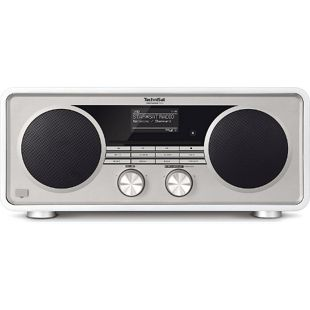 TechniSat DIGITRADIO  600 Internetradio (Spotify, WLAN, LAN, DAB+, DAB, UKW, CD-Player, Bluetooth)... weiß