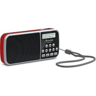 TechniSat Techniradio RDR portables DAB+/UKW-Taschenradio mit LED-Taschenlampenfunktion