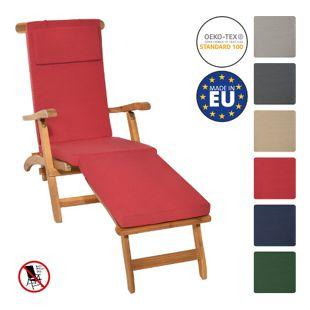 Deckchair Auflage LoftLux... Rot, 175x45x5 cm