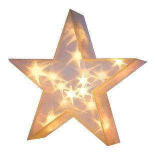 Weihnachtsbeleuchtung LED Stern, 3D Effekt