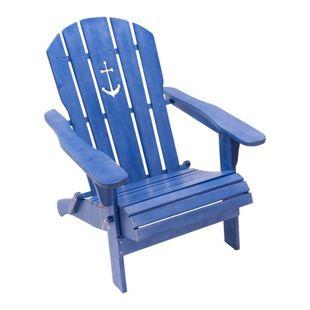 Gartenstuhl Anker Blue used