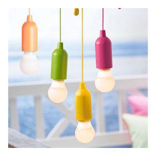 LED Ziehleuchten-Set, 4-tlg. Party Bunt