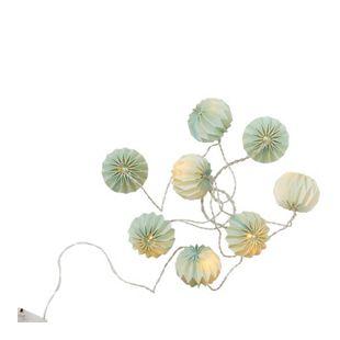 BUTLERS HANAMI LED-Lampions 8 Lichter