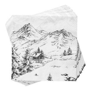 BUTLERS APRÈS Papierserviette Alpen