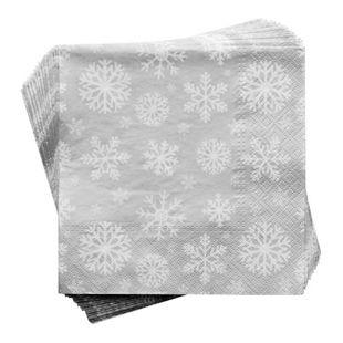 BUTLERS APRÈS Papierserviette Schneeflocke