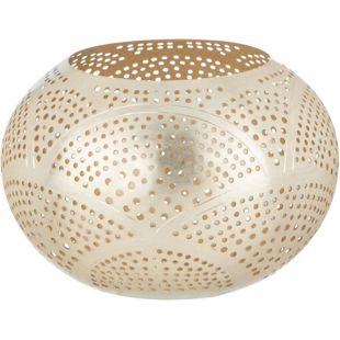 BUTLERS ARABIAN NIGHTS Teelichthalter Wellen Ø 15,5cm