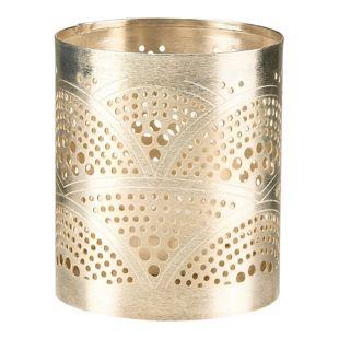 BUTLERS ARABIAN NIGHTS Teelichthalter Wellen Ø 8 cm