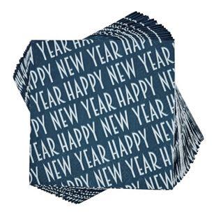 BUTLERS APRÈS Papierserviette Happy New Year