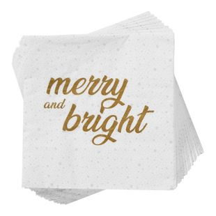 BUTLERS APRÈS Papierserviette Merry and Bright