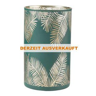BUTLERS DELIGHT Windlicht Palmblatt 20 cm