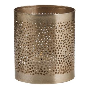 BUTLERS ARABIAN NIGHTS Teelichthalter Punkte Höhe 9,5 cm