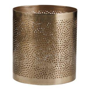 BUTLERS ARABIAN NIGHTS Teelichthalter Punkte Höhe 13 cm