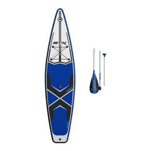 STX 11'6 Tourer inflatable SUP + Paddel Farbe: Blue