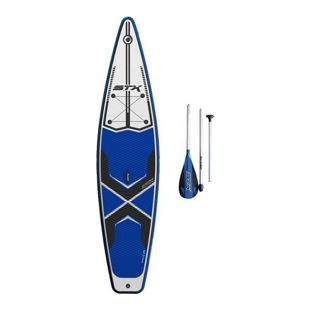 STX 12'6 Race inflatable SUP + Paddel Farbe: Blue, Boardbreite: 32.0""
