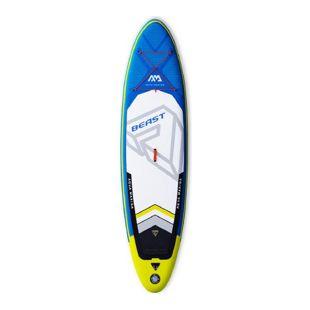 "Aqua Marina 10'6"" Beast inflatable SUP + Paddel"