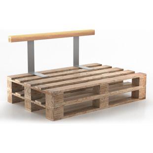 Holzlehne Lehne für Palettenkissen 110 cm Rückenlehne Palettenlehne Seitenlehne Palettensofalehne
