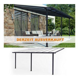 Oskar Terrassendach Alu Pergola Terrassenüberdachung Überdachung Dach Veranda Carport 557x303