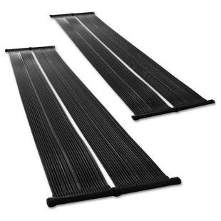 2er Set Solar Poolheizung 70x600cm Solarkollektor Solarheizung Pool Solarpanel